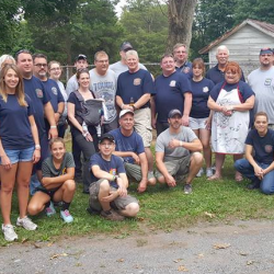 Volunteers for the 2016 Annual Gun Raffle at Lisburn Community Fire Company produced jointly with Lower Allen Township Fire Department.